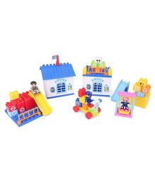 Smiles Creation Police Blocks Set Multi Color - 47 Pieces