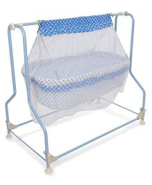 Infanto Cradle Cocoon With Mosquito Net - Blue