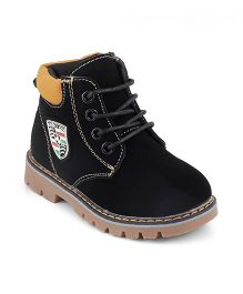 Kittens Lace Boots - Black
