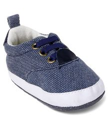 Cute Walk by Babyhug Shoes Style Booties - Grey White