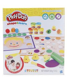 Play Doh Shape And Learn Letters And Language - Yellow
