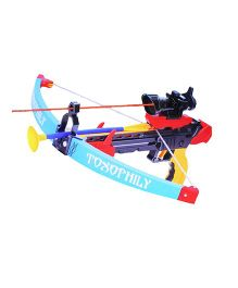 Emob Crossbow & Arrow Action Shooting Toy With laser Target - Multi Colour