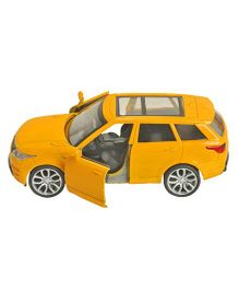 Magic Pitara Die-Cast Metal Pull Back Car - Yellow