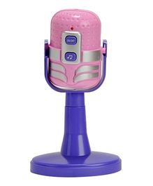 Magic Pitara Funny Microphone With Light And Music - Pink Purple