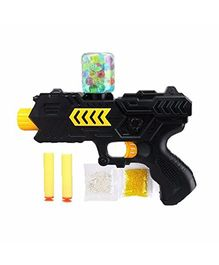 Webby Soldier Gun With Jelly Shots And Soft Foam Bullets - Black