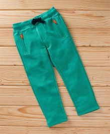 UCB Full Length Track Pant With Drawstrings - Green