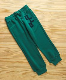 UCB Full Length Track Pant With Drawstring - Green