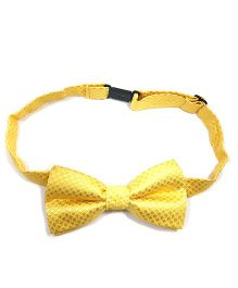 Kidofash Contrast Criss Cross Bowtie - Yellow