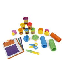 Play-Doh Shape & Learn Textures & Tools Kit - Multicolor