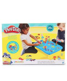 Play Doh Play 'N Store Table - Yellow