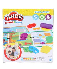 Play Doh Shape And Learn Shape A Story - Multi Colour