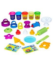 Play Doh Kitchen Creations Frost N Fun Cakes - Yellow