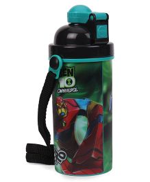 Ben 10 Sipper Bottles Green - 600 ml