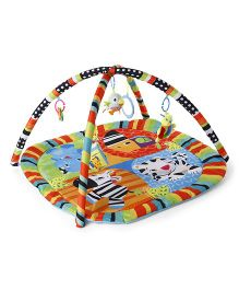 Animals Print Twist N Fold Activity Play Gym - Multi Colour