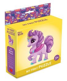 Braino Kidz My First Mini Jigsaw Puzzle Unicorn Multicolor - 25 Pieces