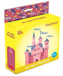Braino Kidz My First Mini Jigsaw Puzzle Fairyland Multicolor - 25 Pieces