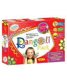 Braino Kidz DIY Rangoli Kit - Multicolor