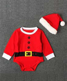 Pre Order - Superfie Santa Suit For Baby - Red