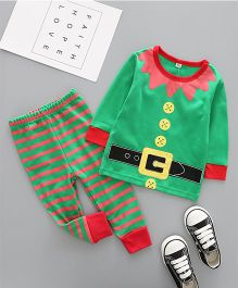 Superfie Christmas Theme Sets For Kids - Green & Multicolor
