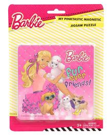 Barbie Magnetic Jigsaw Puzzle - Multicolor