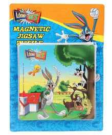 Looney Tunes Magnetic Jigsaw Puzzle - Multicolor