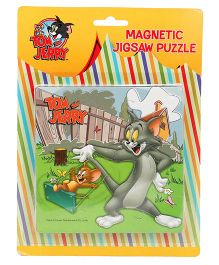 Tom & Jerry Magnetic Jigsaw Puzzle - Multicolor