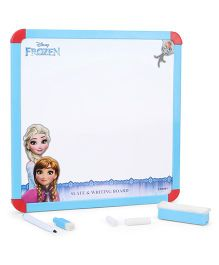 Disney Frozen 2 In 1 Slate & Writing Board (Color May Vary)