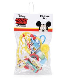 Disney Mickey Mouse Doctor Set Multicolor - 11 Pieces