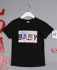 Awabox Baby Print Top - Black