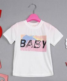 Awabox Baby Print Top - White