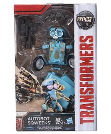 Transformers The Last Knight Autobot Sqweeks Figure Aqua - 15 cm