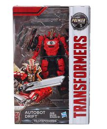 Transformers The Last Knight Autobot Drift Figure Red - 13.5 cm