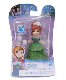 Disney Frozen Doll With Accessories Green - Height 8 cm