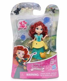 Disney Princess Merida Doll With Accessories Green - Height 7.6 cm
