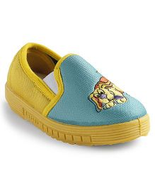 Footfun Casual Shoes Puppy Embroidered - Yellow