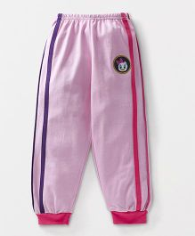 Bodycare Full Length Track Pant Daisy Duck Patch - Light Pink