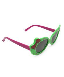Babyhug Star Print Sunglass - Green & Purple