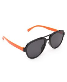 Babyhug Classic Kids Sunglass - Black & Orange