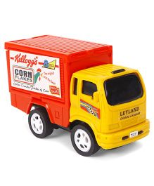 Speedage Leyland Kelloggs Corn Flakes Goods Carrier Truck - Yellow Red