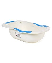 Baby Bath Tub - Blue White