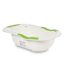 Baby Bath Tub - Green White