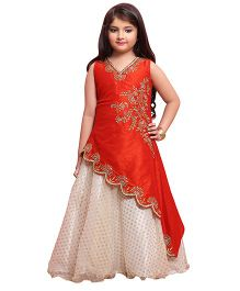 Betty By Tiny Kingdom Smart Chic Gown - Orange