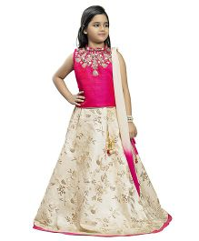 Betty By Tiny Kingdom Classic Lehenga Choli - Pink