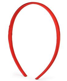 Babyhug Solid Colour Hair Band - Red