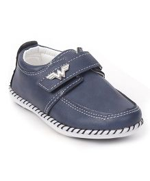 Cute Walk by Babyhug Party Wear Shoes - Navy Blue