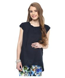 Mamacouture Maternity Top -  Navy