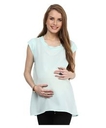 Mamacouture Maternity Top -  Light Green