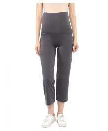 Mamacouture Maternity Track Pants - Grey