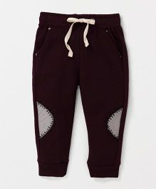 Tonyboy Full Length Track Pants - Maroon