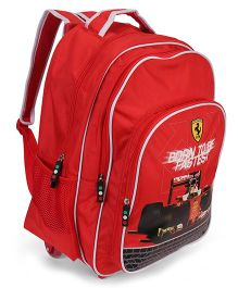 Simba Trolley Bag Red - 17 inches